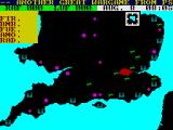 Battle of Britain ZX Spectrum Map of the battle