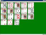 Solitaire King: Triplets Windows 3.x This is the layout of the cards at the start of the game