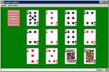 Solitaire King: Trusty Twelves Windows 3.x The arrangement of the cards at the start of the game