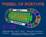 Wheel of Fortune - Koło Fortuny Amiga Title screen