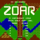 Zoar Arcade Title Screen
