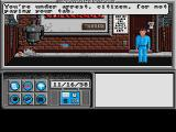 Neuromancer Amiga You get arrested