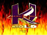 Killer Instinct Gold Nintendo 64 Main menu.