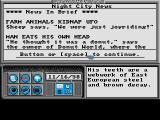 Neuromancer Amiga Your P.A.X system tells you of news and messages