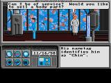Neuromancer Amiga Sell your body parts at the body shop