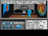 Neuromancer Amiga You are sent to the justice booth