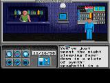 Neuromancer Amiga You start off by waking up in some spaghetti