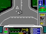 Paris-Dakar ZX Spectrum Turning right