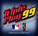 Triple Play 99 PlayStation Title screen