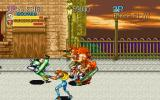 Captain Commando PlayStation Attacking a bulk of enemies
