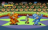 Captain Commando PlayStation Between enemy mechs. But I'm also carrying a heavy weapon