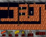 Lost in Mine Amiga Start of level 3