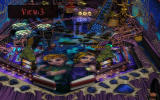 Pinball FX2 Windows Sorcerer's Lair: night mode with certain targets highlighted.