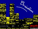 Brainstorm ZX Spectrum Loading Screen