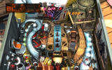 Pinball FX2: Deadpool Windows Zoomed in view of the top of the table