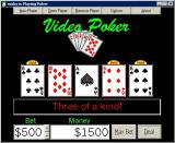 Video Poker Windows A winning hand.