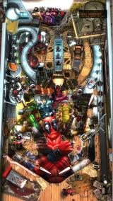 Pinball FX2: Deadpool Windows Full Table view (portrait mode, view mode 2)