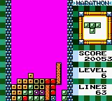 "Tetris DX Game Boy Color Making it for the ""Double"" lines..."