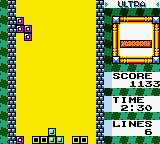 "Tetris DX Game Boy Color It only has one objective: clear as many lines at a time as possible with the ""Ultra""!"