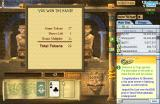 Tri-Peaks Solitaire Browser Final hand statistics.
