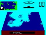 Convoy Raider ZX Spectrum Map