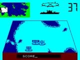 Convoy Raider ZX Spectrum Encountered the enemy
