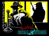 Contact Sam Cruise ZX Spectrum Loading Screen
