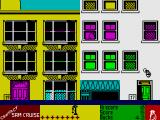 Contact Sam Cruise ZX Spectrum Standing at the window