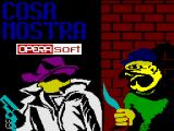 Cosa Nostra ZX Spectrum Loading Screen