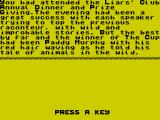 The Cup ZX Spectrum The story