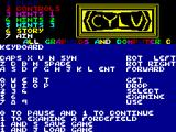 Cylu ZX Spectrum Title Screen