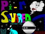 πr² ZX Spectrum Loading Screen