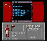 Dungeon Magic: Sword of the Elements NES Reading a conveinant job posting
