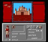 Dungeon Magic: Sword of the Elements NES Mighty castle of the realm
