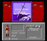Dungeon Magic: Sword of the Elements NES Evil wins again...