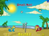 "Mynci Beach Volleyball Browser The ""Small Net"" powerup makes things more hectic"