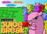Meepit Juice Break Browser Main menu
