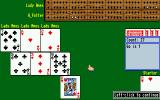 Cribbage King / Gin King Amiga Cribbage King game in progress