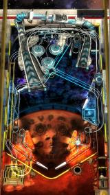 Pinball FX2: Mars Windows Full table view (portrait mode, view 2)