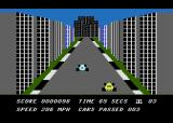 Death Race Atari 8-bit In the city