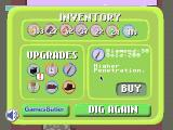 Dig to China Browser The shop, with several upgrades already purchased