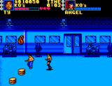 Pit-Fighter SEGA Master System Pick up the crates and throw them