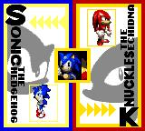 Sonic Blast Game Gear Pick your character
