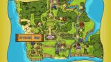 Harvest Moon: Hero of Leaf Valley PSP Map