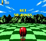 Sonic Blast Game Gear Bonus level