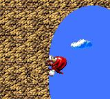 Sonic Blast Game Gear And climb walls