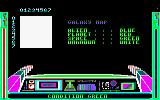 3D Time Trek Amstrad CPC Galaxy Map