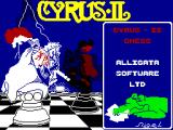 Cyrus II Chess ZX Spectrum Loading Screen