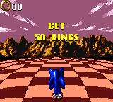 Sonic Blast Game Gear Sonics turn for a bonus round
