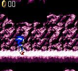 Sonic Blast Game Gear Weird looking caves